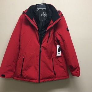 NWT Calvin Klein 3 in 1 all weather jacket